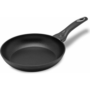 Сковорода d 24 см MoulinVilla Титан (TM-24-I) сковорода гриль 24 см moulinvilla titanium granit tgn 24