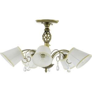 Потолочная люстра Lightstar 796051 люстра потолочная коллекция ampollo 786102 золото коньячный lightstar лайтстар