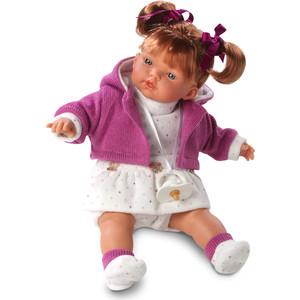 Llorens Кукла Алиса 33 см со звуком (L 33268) куклы и одежда для кукол llorens кукла алиса 33 см со звуком