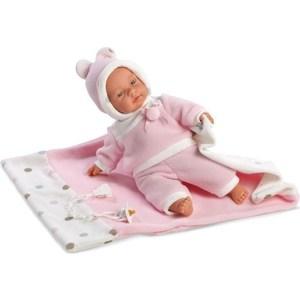 Llorens Кукла Люсия 33 см с одеялом со звуком (L 33403) куклы и одежда для кукол llorens кукла алиса 33 см со звуком