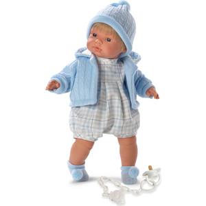 Llorens Кукла Пабло 38см со звуком (L 38537) куклы и одежда для кукол llorens кукла клавдия 38 см со звуком