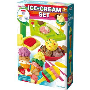 Playgo Набор с пластилином Мороженое (Play 8592) play doh игровой набор магазинчик домашних питомцев