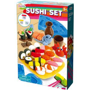 Playgo Набор с пластилином Суши и роллы (Play 8596) всё для лепки playgo набор 8636