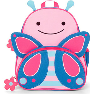 Skip-Hop Рюкзак детский с поводком Бабочка (SH 212202) skip hop детский бабочка sh 212121