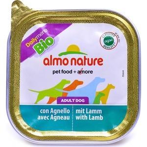 Консервы Almo Nature Daily Menu Adult Dog with Lamb and Potatoes паштет с ягненком и картофелем для собак 100г (1148) almo nature almo nature daily menu bio adult cat lamb
