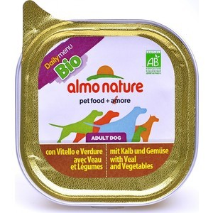 Консервы Almo Nature Daily Menu Adult Dog with Veal and Carrots паштет с телятиной и морковью для собак 100г (0578) free shipping original jetbeam rrt 2 cree xm l2 led 550 lumens flashlight daily torch compatible with cr123 18650 battery