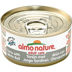 Консервы Almo Nature Classic Adult Cat with Tuna and White Bait с тунцом и сардинками для кошек 140г (0523) 100pcs fishing lures minnow crank bait metal sequins 20style three hooks jig wobblers lure fishing tackle bait suit top quality