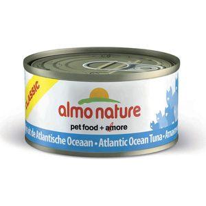 Консервы Almo Nature Classic Adult Cat with Atlantic Tuna с атлантическим тунцом для кошек 140г (1032) консервы almo nature legend adult cat with atlantic tuna с атлантическим тунцом для кошек 70г 4076