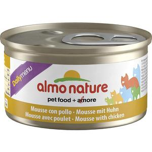 Консервы Almo Nature Daily Menu Adult Cat Mousse with Chicken нежный мусс с курицей для кошек 85г (5023) free shipping original jetbeam rrt 2 cree xm l2 led 550 lumens flashlight daily torch compatible with cr123 18650 battery