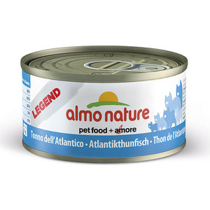 Консервы Almo Nature Legend Adult Cat with Atlantic Tuna с атлантическим тунцом для кошек 70г (4076) almo nature almo nature legend adult cat tuna