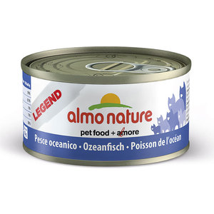 Консервы Almo Nature Legend Adult Cat with Oceanic Fish с океанической рыбой для кошек 70г (7602) консервы almo nature daily menu adult cat mousse with oceanic fish нежный мусс с океанической рыбой для кошек 85г 5016