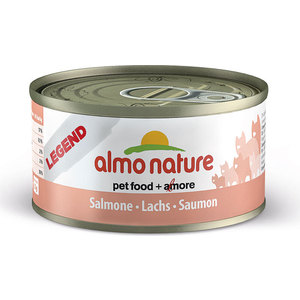 Консервы Almo Nature Legend Adult Cat with Salmon and Carrot с лососем для кошек 70г (1006) almo nature almo nature alternative adult cat salmon