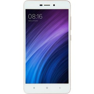 Смартфон Xiaomi Redmi 4A 16Gb Gold xiaomi redmi 6a 2gb 16gb gold смартфон