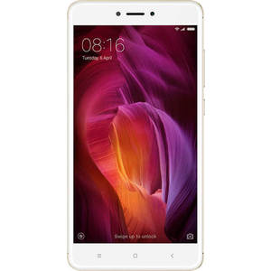 Смартфон Xiaomi Redmi Note 4 32Gb Gold смартфон xiaomi note 6 pro 32 gb черный