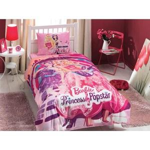Детское постельное белье TAC 1,5 сп, ранфорс, Barbie princess popstar (3801-60069143)