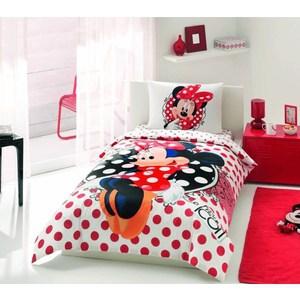 Детское постельное белье TAC 1,5 сп, ранфорс, Minnie fashion icon (3800-60088650)