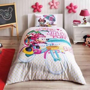 Детское постельное белье Disney 1,5 сп, ранфорс, Minnie summer (3802-41278)