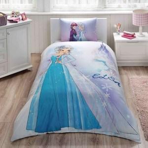 Детское постельное белье Disney 1,5 сп, ранфорс, Frozen sister (3802-35805)