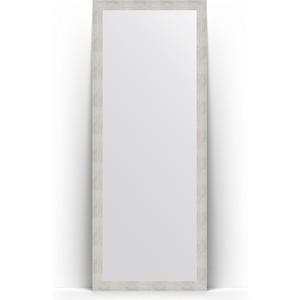 Зеркало напольное поворотное Evoform Definite Floor 78x197 см, в багетной раме - серебряный дождь 70 мм (BY 6002) зеркало в багетной раме поворотное evoform definite 56x76 см серебряный дождь 70 мм by 3048