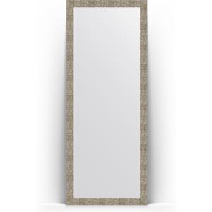 Зеркало напольное поворотное Evoform Definite Floor 78x197 см, в багетной раме - соты титан 70 мм (BY 6006) купить автошину к 197 в смоленске