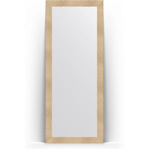 Зеркало напольное поворотное Evoform Definite Floor 81x201 см, в багетной раме - золотые дюны 90 мм (BY 6007) бра leds c4 bristol 05 2815 81 81 pan 177 by