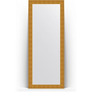 Зеркало напольное поворотное Evoform Definite Floor 81x201 см, в багетной раме - чеканка золотая 90 мм (BY 6008) mantra 6008