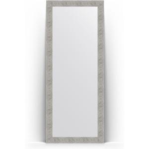 Зеркало напольное поворотное Evoform Definite Floor 81x201 см, в багетной раме - волна хром 90 мм (BY 6011) бра leds c4 bristol 05 2815 81 81 pan 177 by