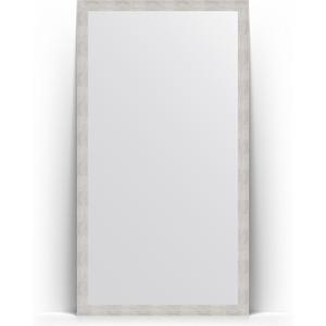 Зеркало напольное поворотное Evoform Definite Floor 108x197 см, в багетной раме - серебряный дождь 70 мм (BY 6014) зеркало в багетной раме поворотное evoform definite 56x76 см серебряный дождь 70 мм by 3048