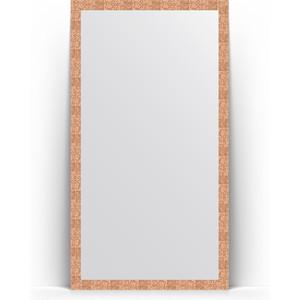 Зеркало напольное поворотное Evoform Definite Floor 108x197 см, в багетной раме - соты медь 70 мм (BY 6016) блесна afa tec mp6063 16n nn5 5202 6016 5200 6016