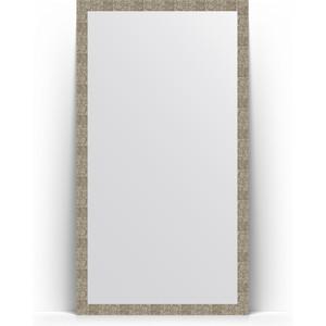 Зеркало напольное поворотное Evoform Definite Floor 108x197 см, в багетной раме - соты титан 70 мм (BY 6018) купить автошину к 197 в смоленске