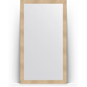 Зеркало напольное поворотное Evoform Definite Floor 111x201 см, в багетной раме - золотые дюны 90 мм (BY 6019) зеркало напольное поворотное evoform definite floor 111x201 см в багетной раме чеканка серебряная 90 мм by 6021