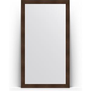 Зеркало напольное поворотное Evoform Definite Floor 111x201 см, в багетной раме - бронзовая лава 90 мм (BY 6022)