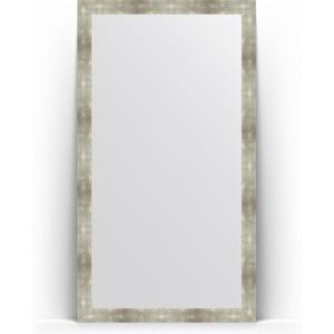 Зеркало напольное поворотное Evoform Definite Floor 111x201 см, в багетной раме - алюминий 90 мм (BY 6024) зеркало напольное поворотное evoform definite floor 111x201 см в багетной раме чеканка серебряная 90 мм by 6021
