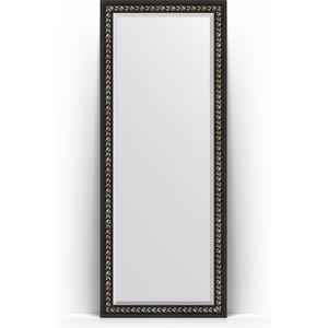 Фото - Зеркало напольное с фацетом поворотное Evoform Exclusive Floor 80x199 см, в багетной раме - черный ардеко 81 мм (BY 6108) зеркало напольное с гравировкой поворотное evoform exclusive g floor 110x199 см в багетной раме черный ардеко 81 мм by 6348