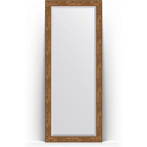Зеркало напольное с фацетом поворотное Evoform Exclusive Floor 80x200 см, в багетной раме - виньетка бронзовая 85 мм (BY 6112) зеркало с фацетом в багетной раме поворотное evoform exclusive 65x155 см виньетка бронзовая 85 мм by 1290