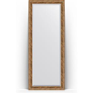 Зеркало напольное с фацетом поворотное Evoform Exclusive Floor 80x200 см, в багетной раме - виньетка античная бронза 85 мм (BY 6114) зеркало с фацетом в багетной раме поворотное evoform exclusive 115x175 см виньетка античная бронза 85 мм by 3618