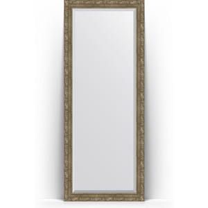 Зеркало напольное с фацетом поворотное Evoform Exclusive Floor 80x200 см, в багетной раме - виньетка античная латунь 85 мм (BY 6115) зеркало с фацетом в багетной раме evoform exclusive 75x165 см виньетка античная латунь 85 мм by 3593
