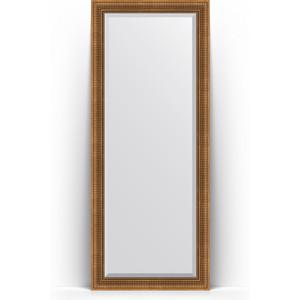 Зеркало напольное с фацетом поворотное Evoform Exclusive Floor 82x202 см, в багетной раме - бронзовый акведук 93 мм (BY 6122) зеркало с фацетом в багетной раме evoform exclusive 47x57 см бронзовый акведук 93 мм by 3362