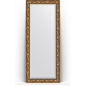 Зеркало напольное с фацетом поворотное Evoform Exclusive Floor 84x203 см, в багетной раме - византия золото 99 мм (BY 6124) зеркало напольное с фацетом поворотное evoform exclusive floor 114x203 см в багетной раме византия бронза 99 мм by 6166