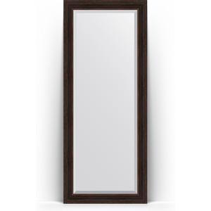 Зеркало напольное с фацетом поворотное Evoform Exclusive Floor 84x204 см, в багетной раме - темный прованс 99 мм (BY 6130) зеркало с фацетом в багетной раме поворотное evoform exclusive 53x83 см прованс с плетением 70 мм by 3407