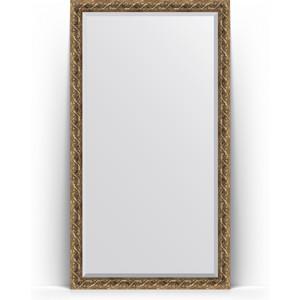 Зеркало напольное с фацетом поворотное Evoform Exclusive Floor 111x200 см, в багетной раме - фреска 84 мм (BY 6151) зеркало с фацетом в багетной раме evoform exclusive 56x86 см фреска 84 мм by 1239