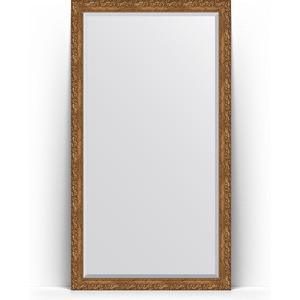 Зеркало напольное с фацетом поворотное Evoform Exclusive Floor 110x200 см, в багетной раме - виньетка бронзовая 85 мм (BY 6152) зеркало с фацетом в багетной раме поворотное evoform exclusive 65x155 см виньетка бронзовая 85 мм by 1290