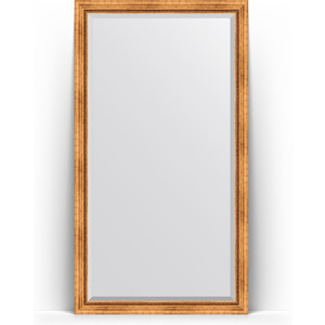 Зеркало напольное с фацетом поворотное Evoform Exclusive Floor 111x201 см, в багетной раме - римское золото 88 мм (BY 6157) зеркало напольное с фацетом поворотное evoform exclusive floor 111x201 см в багетной раме римская бронза 88 мм by 6159