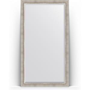Зеркало напольное с фацетом поворотное Evoform Exclusive Floor 111x201 см, в багетной раме - римское серебро 88 мм (BY 6158) зеркало напольное с фацетом поворотное evoform exclusive floor 111x201 см в багетной раме римская бронза 88 мм by 6159