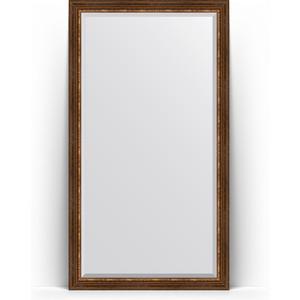 Зеркало напольное с фацетом поворотное Evoform Exclusive Floor 111x201 см, в багетной раме - римская бронза 88 мм (BY 6159) зеркало напольное с фацетом поворотное evoform exclusive floor 111x201 см в багетной раме римская бронза 88 мм by 6159