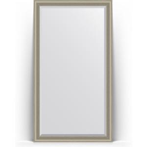 Зеркало напольное с фацетом поворотное Evoform Exclusive Floor 111x201 см, в багетной раме - хамелеон 88 мм (BY 6160) зеркало напольное с фацетом поворотное evoform exclusive floor 111x201 см в багетной раме римская бронза 88 мм by 6159
