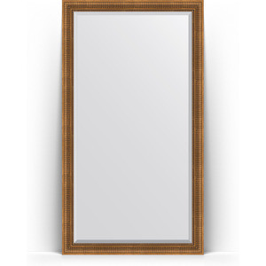 Зеркало напольное с фацетом поворотное Evoform Exclusive Floor 112x202 см, в багетной раме - бронзовый акведук 93 мм (BY 6162) зеркало с фацетом в багетной раме evoform exclusive 47x57 см бронзовый акведук 93 мм by 3362