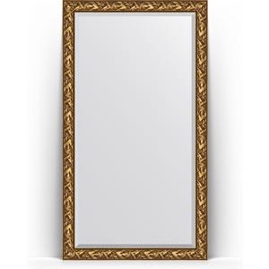 Зеркало пристенное напольное с фацетом Evoform Exclusive Floor 114x203 см, в багетной раме - византия золото 99 мм (BY 6164) nowley nowley 8 6164 0 2