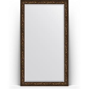 Зеркало напольное с фацетом поворотное Evoform Exclusive Floor 114x203 см, в багетной раме - византия бронза 99 мм (BY 6166) зеркало напольное с фацетом поворотное evoform exclusive floor 114x203 см в багетной раме византия бронза 99 мм by 6166