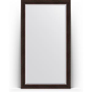 Зеркало пристенное напольное с фацетом Evoform Exclusive Floor 114x204 см, в багетной раме - темный прованс 99 мм (BY 6170) зеркало пристенное напольное с фацетом evoform exclusive floor 114x203 см в багетной раме византия серебро 99 мм by 6165